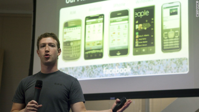 """Facebook planea desarrollar su propio """"smartphone"""""""