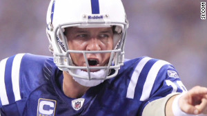 Coverage of Peyton Manning\'s recovery from neck surgery threatens to overshadow Super Bowl XLVI.