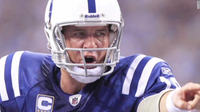 Peyton Manning leaving Colts