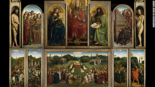 <br/>Thought to be one of the most famous panel paintings in the world, the Ghent Altarpiece, completed in 1432, can now be viewed on a specially-designed, open source website.