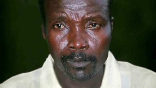An image of notorious warlord and LRA founder Joseph Kony who has terrorized Africans for 26 years.
