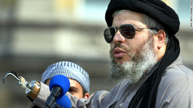 Abu Hamza has called 9/11