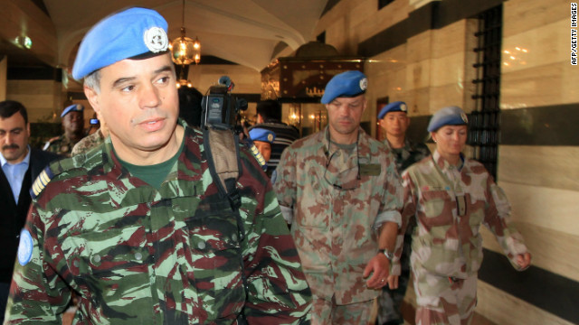 Los observadores de las Naciones Unidas han estado en Siria desde abril, pero la ONU dice que la creciente violencia está impidiendo su trabajo.