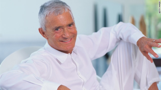 World-famous hairdresser Vidal Sassoon, pictured here in 1995, died of