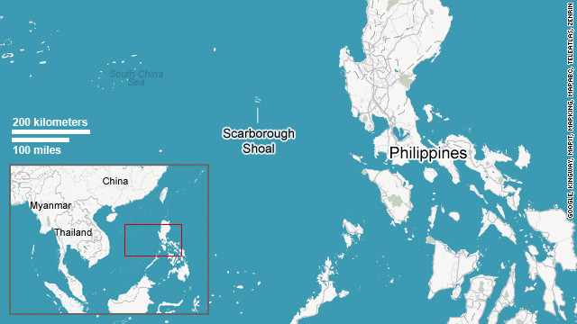 Map: Scarborough Shoal