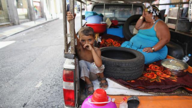 Los niños griegos pagan el precio de la crisis de su país