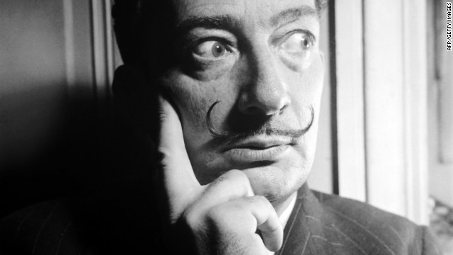 Salvador Dali painted