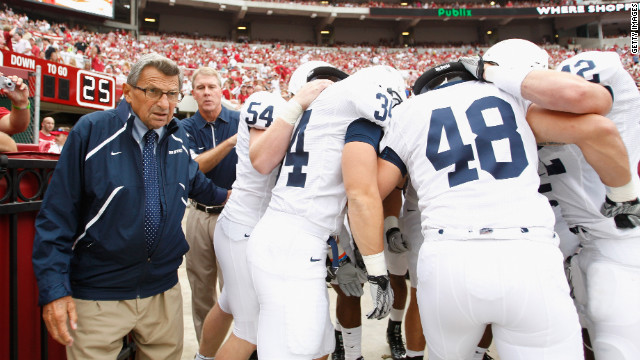 Penn State's wins since 1998 vacated, hit with $60M fine