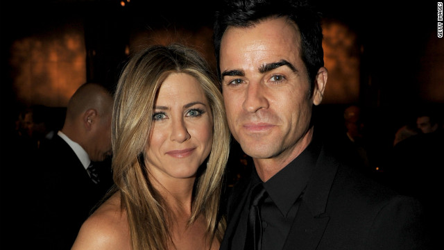 Jennifer Aniston hasn't always been lucky in love, but she may have finally found her prince in<a href='http://www.cnn.com/2012/08/12/showbiz/aniston-engaged/index.html?hpt=en_c1' target='_blank'> fiancé</a> Justin Theroux. Here's a look back at some of Jen's men: