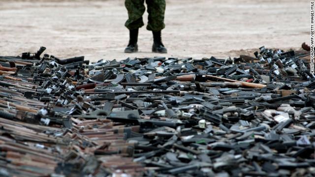 cartel handgun