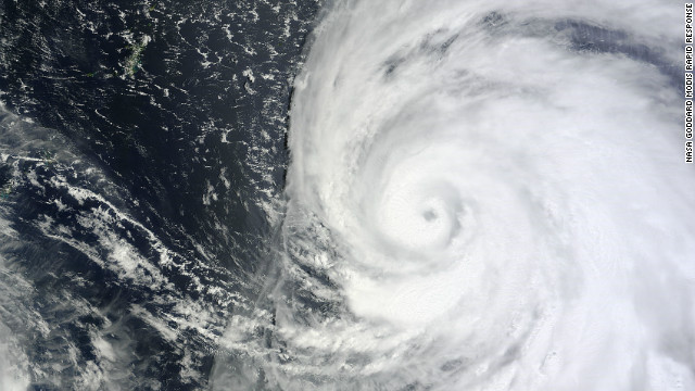 Typhoon Bolaven is expected to make landfall near Okinawa on Sunday.