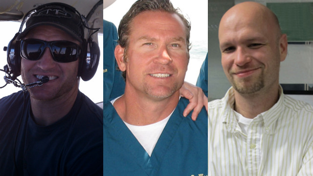 From left: Glen Doherty, Tyrone Woods and Sean Smith died in the recent attacks on the U.S. Embassy in Libya.