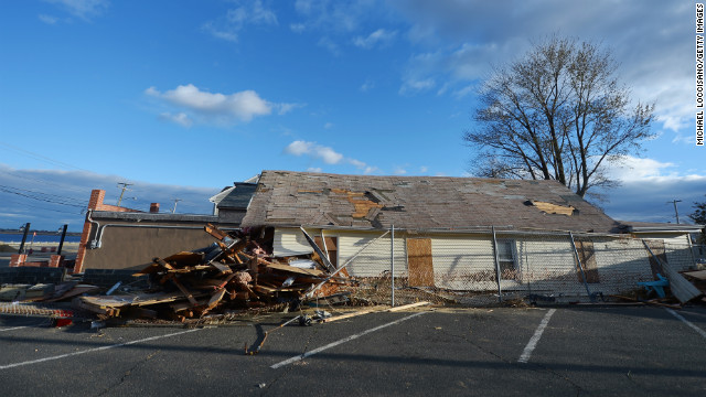 Sandy Rockaway Neighborhood Queens Damage York New Hurricane