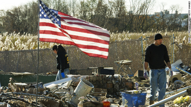 Photos: New York recovers from Sandy