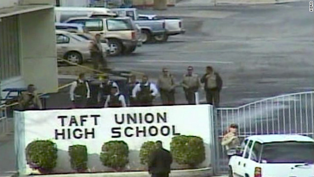 Police: Teen shot 1 student, missed another in California high school