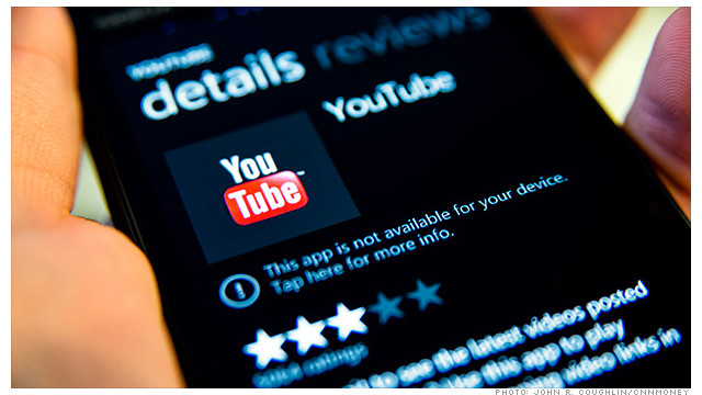 Microsoft a Google: Juega limpio con YouTube