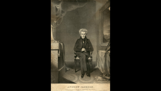 Andrew Jackson was sworn in for his second term on March 4, 1833.