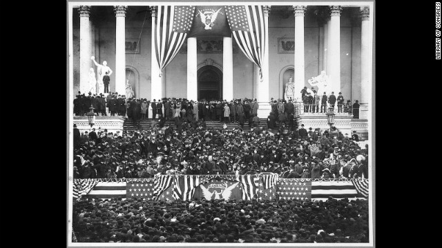 Grover Cleveland's second inauguration is held on March 4, 1893.