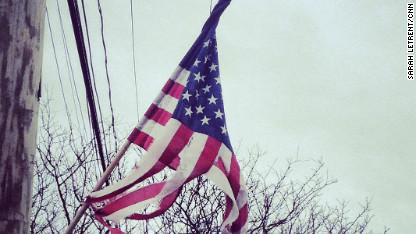 rockaway american flag