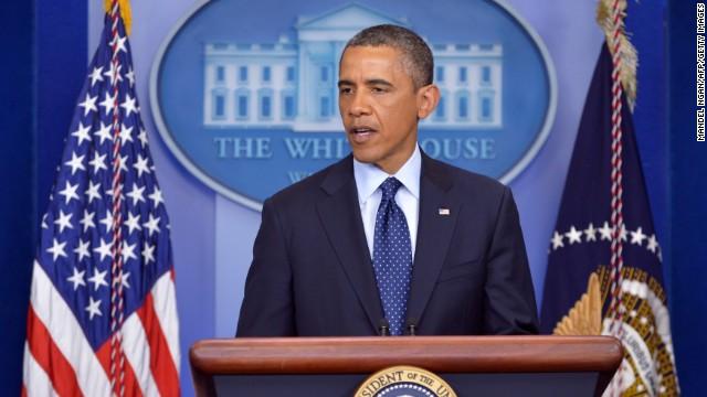 Transcript: Obama reacts to 'senseless' bombings