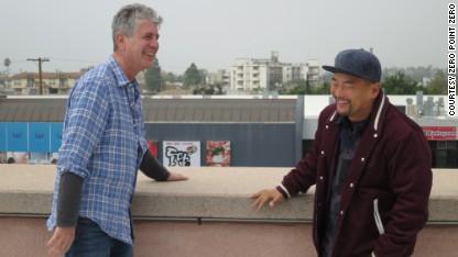 Bourdain and Roy Choi