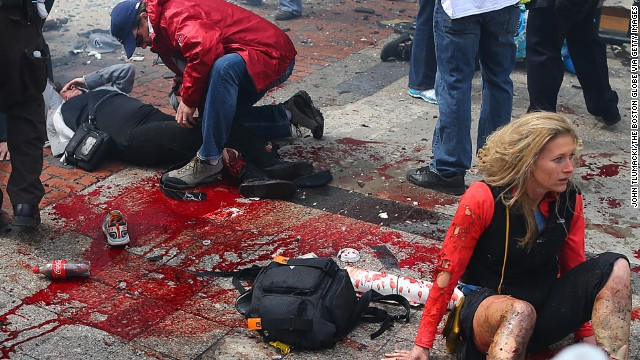 boston marathon essay The whole issue started when two bombs struck near the finish line of the boston marathon, turning the prepared celebrations into a bloody scene of destruction.