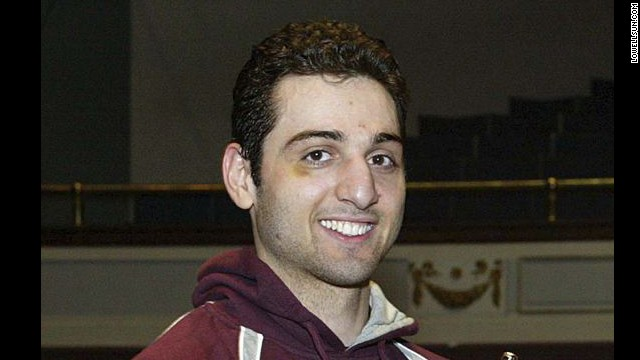 Police say the dead suspect is the man the FBI identified as Suspect 1. Sources tell CNN he has been identified as Tamerlan Tsarnaev. He was killed during a shootout with police in Watertown, Massachusetts, early April 19. Here, Tamerlan is at the 2010 New England Golden Gloves.
