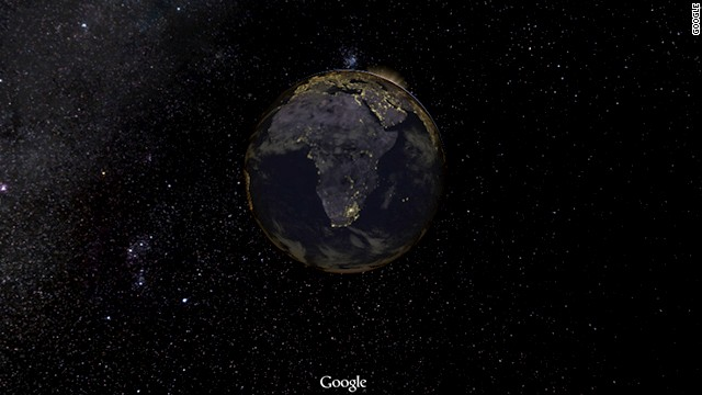 Google Maps zoomed out