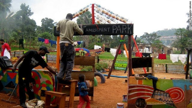 In 2010 Bruno founded Eco Art Uganda, a collective of artists promoting environmental awareness.