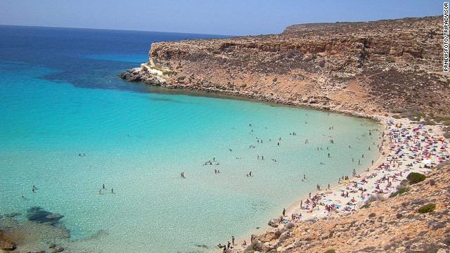 2. Rabbit Beach, Lampedusa, Italy