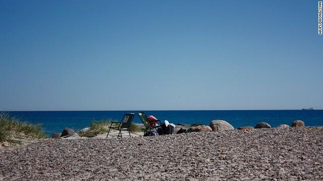 66. Skagen Beach, Denmark