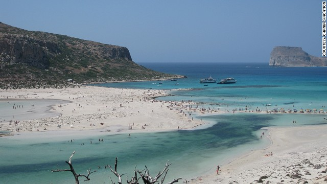 35. Balos Beach, Greece