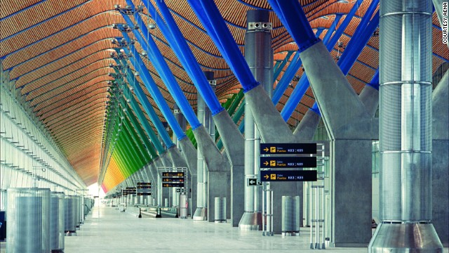 Beautiful airports around the world