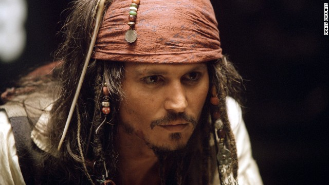 Johnny Depp has starred in all of the