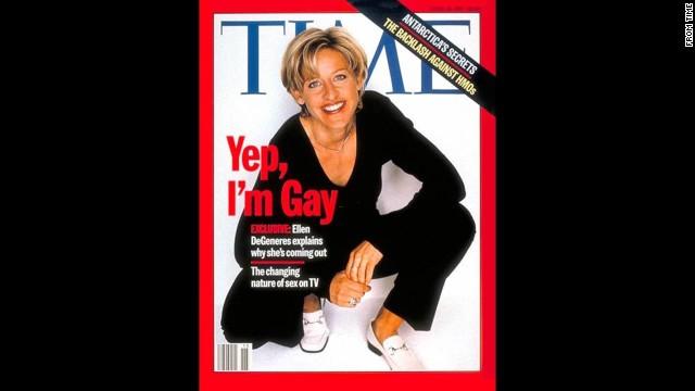 Time magazine's April 14, 1997, cover.