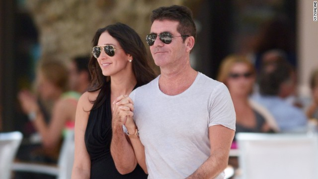 "Dad-to-be Simon Cowell has said he's never been happier. ""The X Factor"" judge is looking forward to fatherhood with Lauren Silverman."