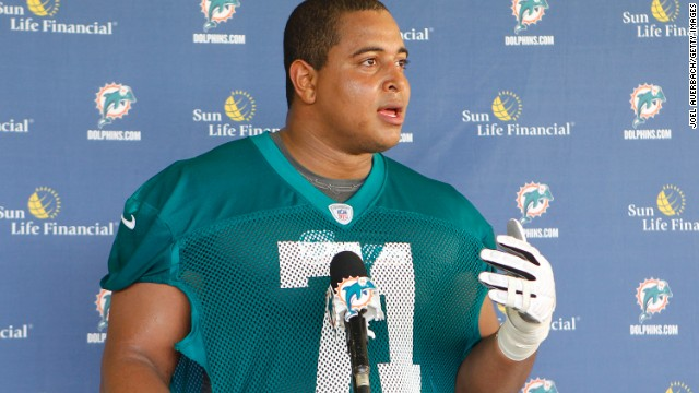 Jonathan Martin has been placed on the