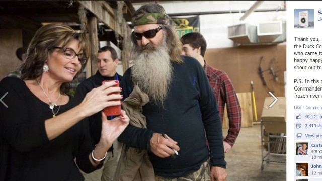 Image result for palin duck dynasty