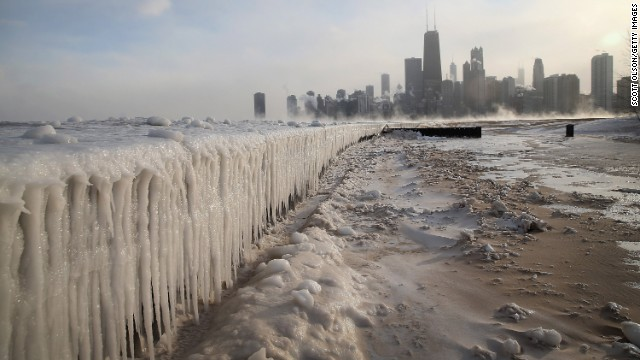 The polar vortex over North Eastern and Midwestern parts of the USA has brought the coldest winter in over 20 years