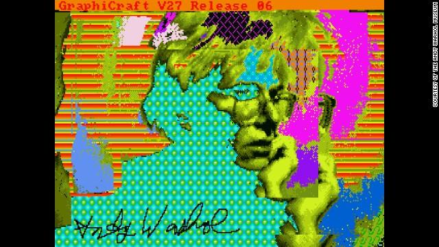 Andy Warhol computer art