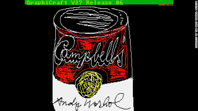 Andy Warhol digital art