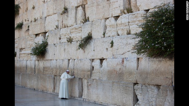 Photos: Pope visits Holy Land