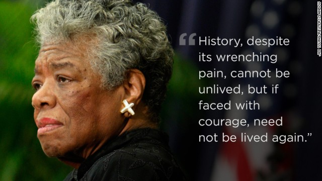 Maya Angelou: In her own words