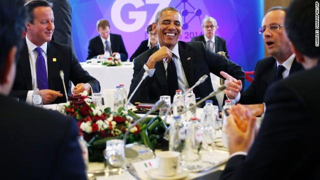 Obama tours Europe