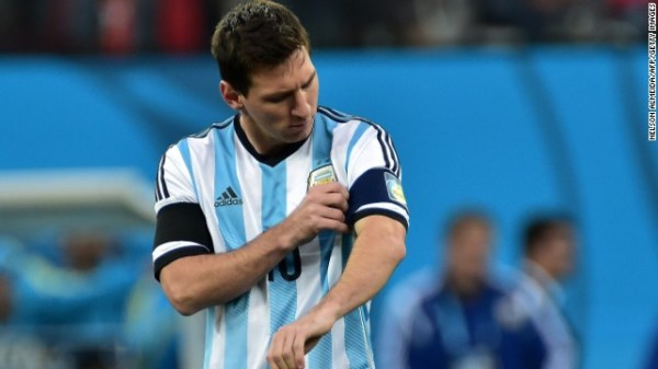 World Cup final: Lionel Messi's moment of immortality ...