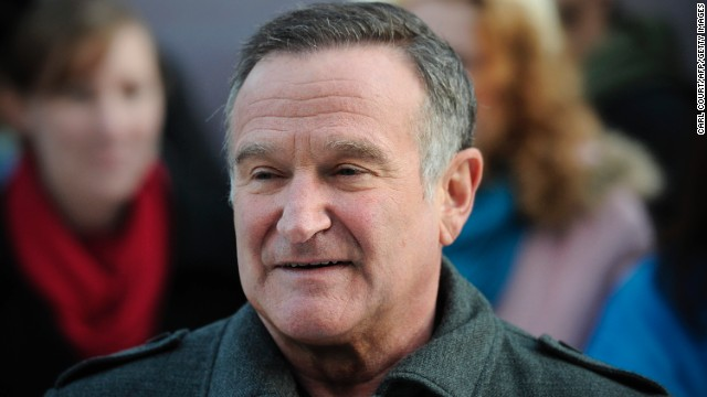 Comedic actor <a href='http://www.cnn.com/2014/08/11/showbiz/robin-williams-dead/index.html?hpt=hp_t1' target='_blank'>Robin Williams</a> died at his Northern California home Monday, law enforcement officials said. Williams was 63.