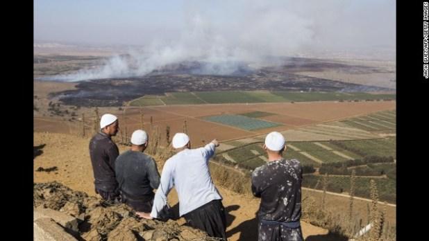 Photos: Syrian civil war in 2014