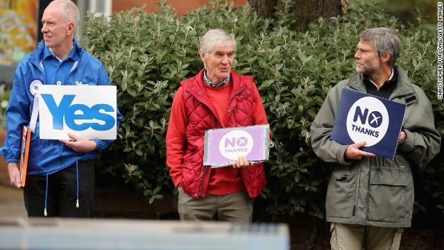 Photos: Scotland votes