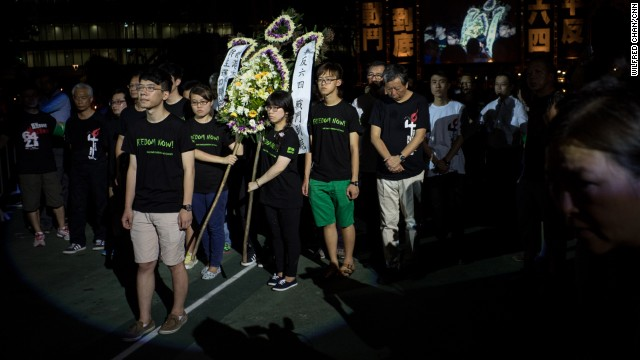 Although many of Hong Kong's students are not old enough to remember the Tiananmen Square crackdown in 1989, they nonetheless participate in marches like the city's annual June 4th vigil.