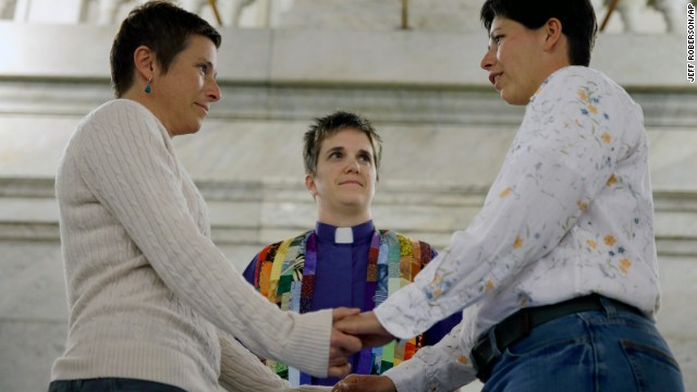 Photos: Same-sex marriage in the U.S.